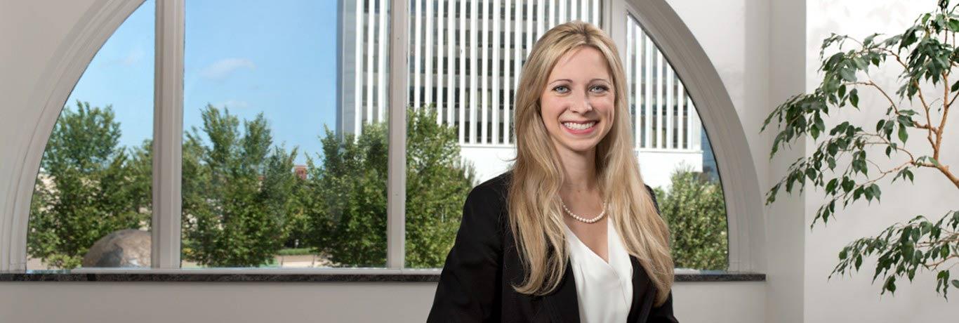 Ruthie Stevens, Corporate lawyer, Tulsa, Oklahoma Hall Estill attorney