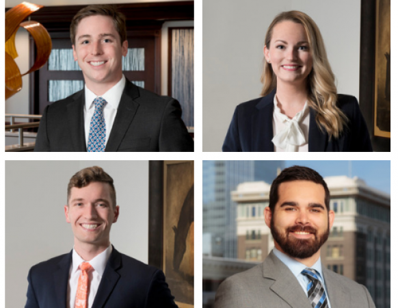 Hall Estill Welcomes Four New Associates to Offices in Oklahoma and Colorado