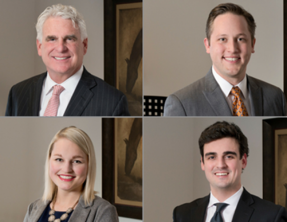 Hall Estill Welcomes Litigation Attorneys O'Connor,  Irby,  Shipley and Dowdell to the Tulsa Office