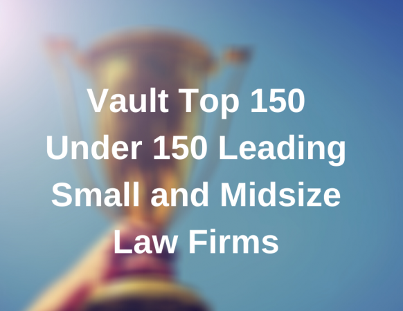 Hall Estill Named to Vault's Top 150 Under 150 Leading Small and Midsize Law Firms