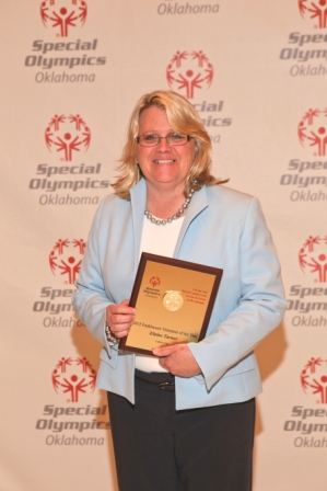 Labor and Employment Attorney Elaine R Turner Special Olympics Volunteer of the year